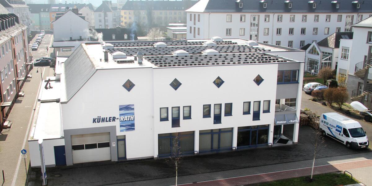 Bild Firmengebäude Kühler Rath Trier